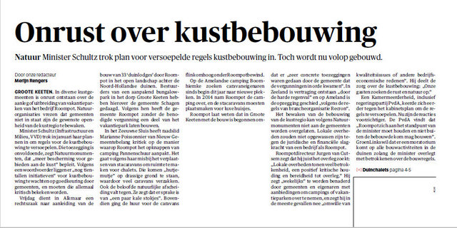 Kustbebouwing - Willem Croese
