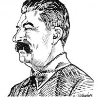Illustration of Joseph Stalin