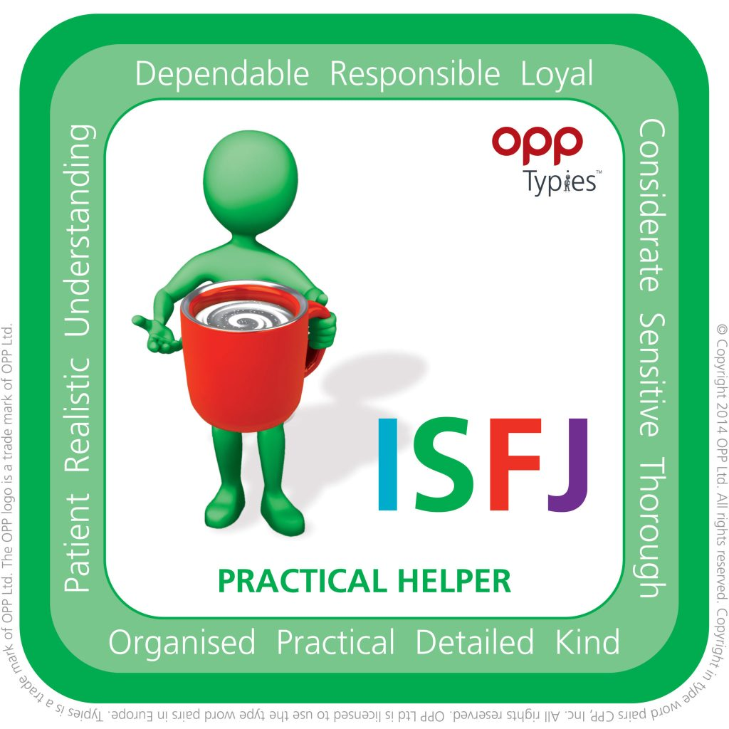 ISFJ Typie, willerby hill hr, hr advice hull, mbti east yorkshire, mbti hull