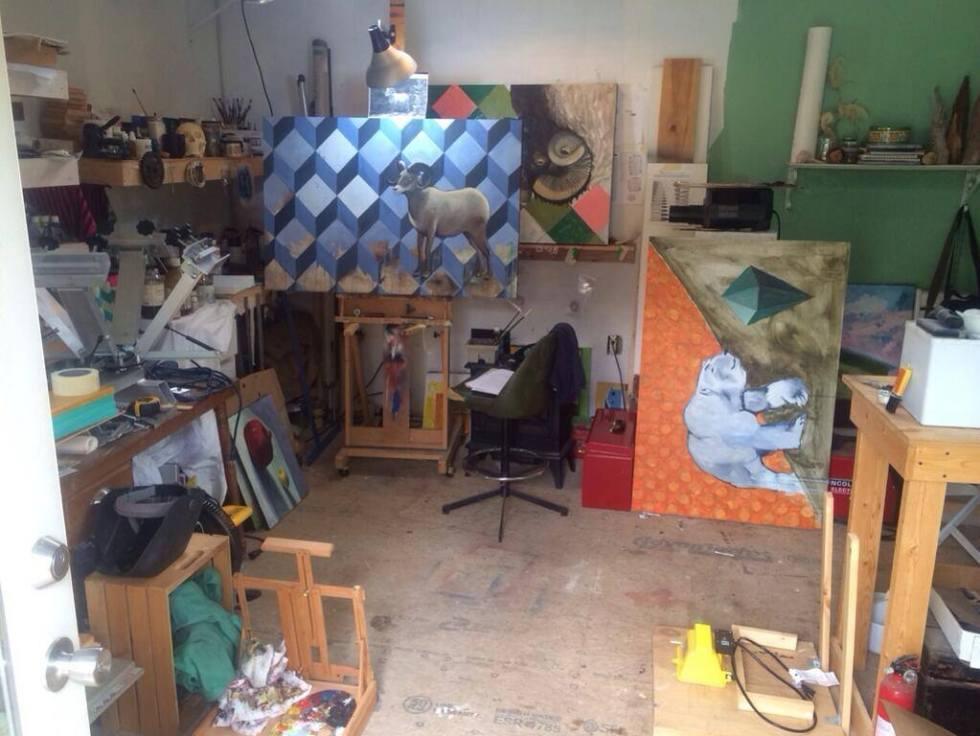 Art Painting Studio Eskridge Athens, GA