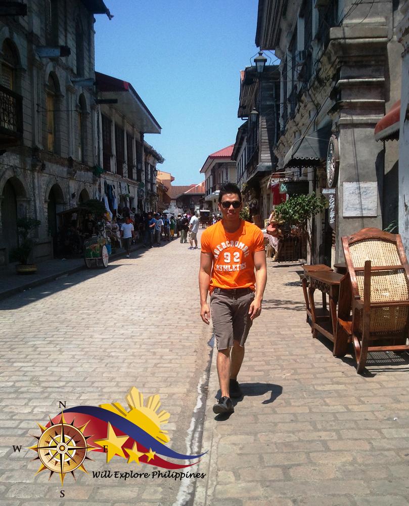 Calle Crisologo Vigan Ilocos Norte Walk