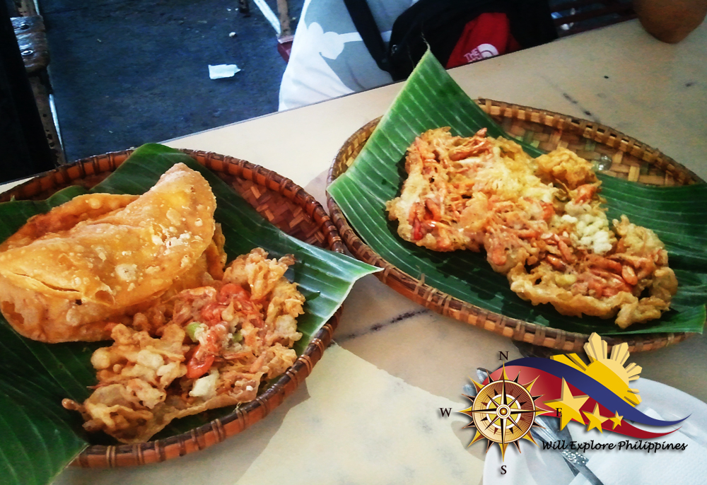 Famous Empanada & Okoy of Vigan Ilocos