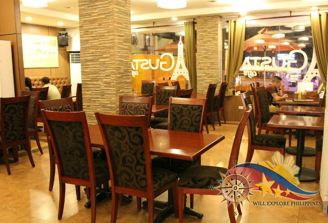 Gustav Cafe Angeles City Dining Area 23