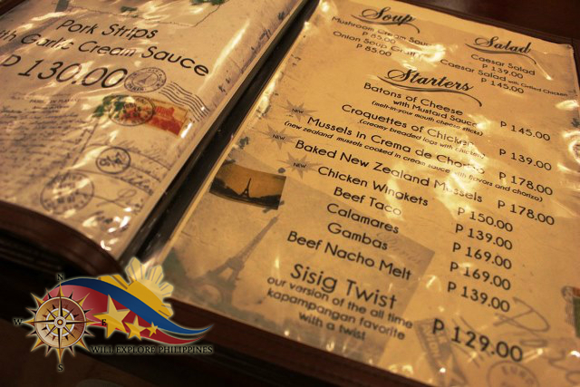 Gustav Cafe Balibago Angeles City Appetizer Menu 3