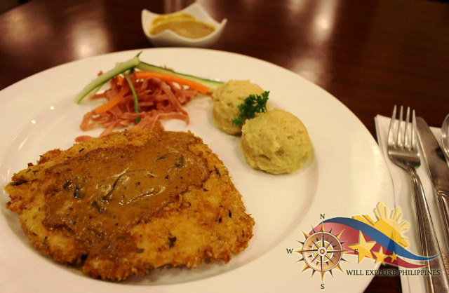 Mustard Crusted Chicken at Gustav Cafe Angeles City 3