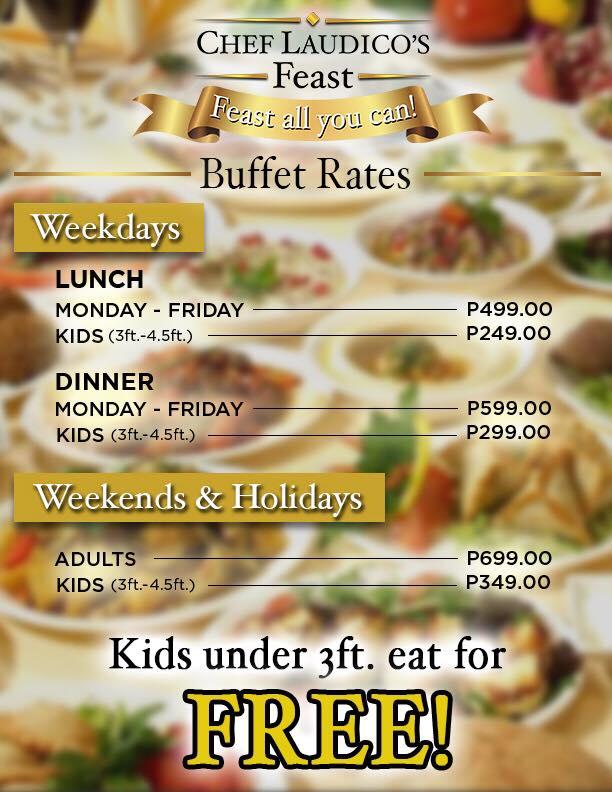 chef laudico s feast buffet in sm city clark pampanga will explore rh willexplorephilippines com