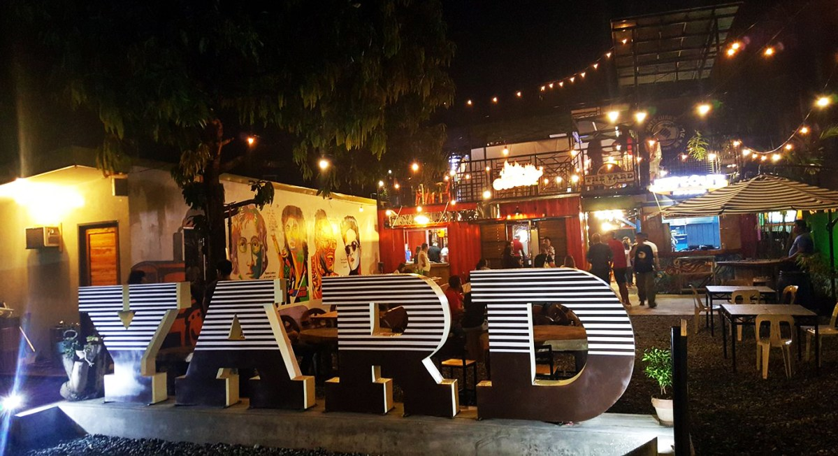 New Food Park: The Yard Angeles City Pampanga