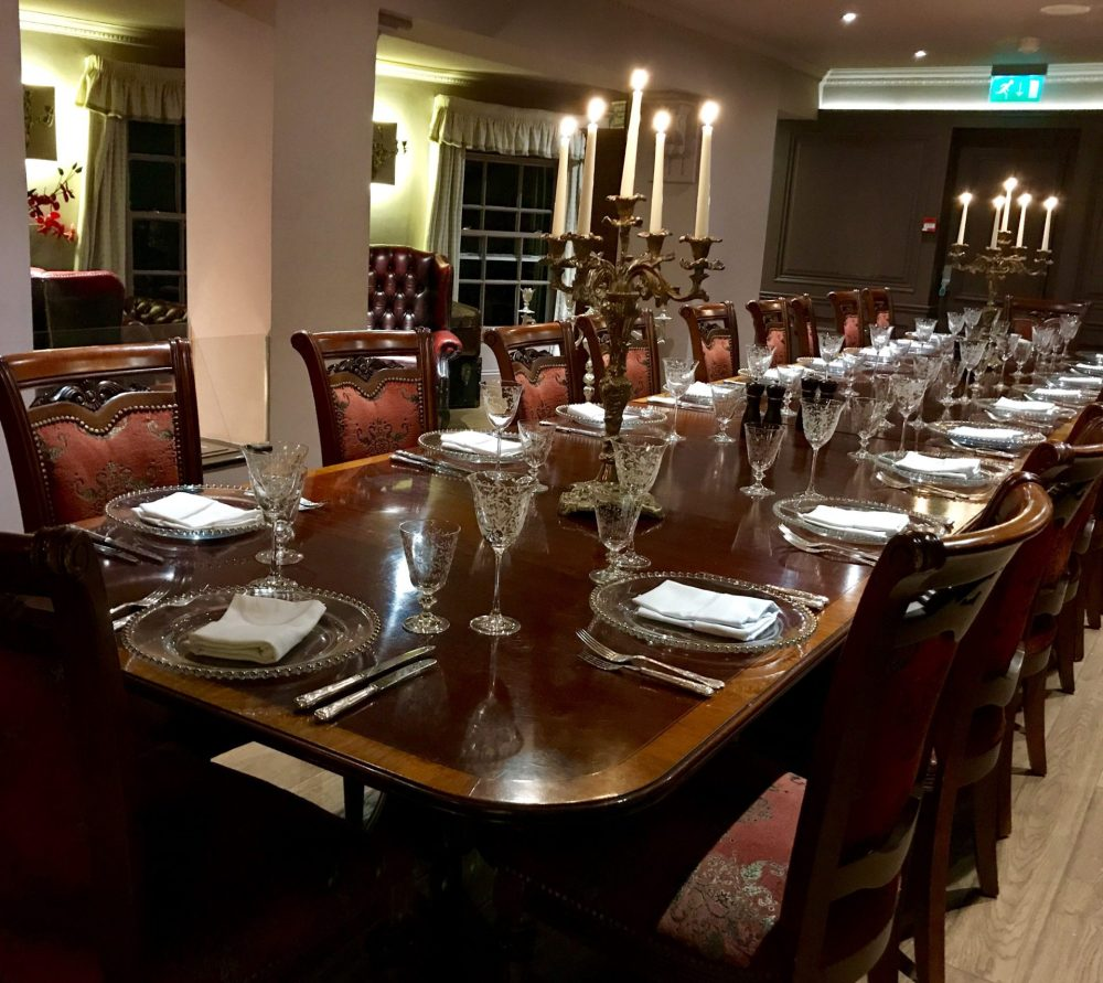 Private dining room, The Walton Hotel, Nottingham