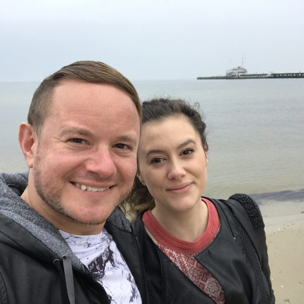 On the beach at Sopot