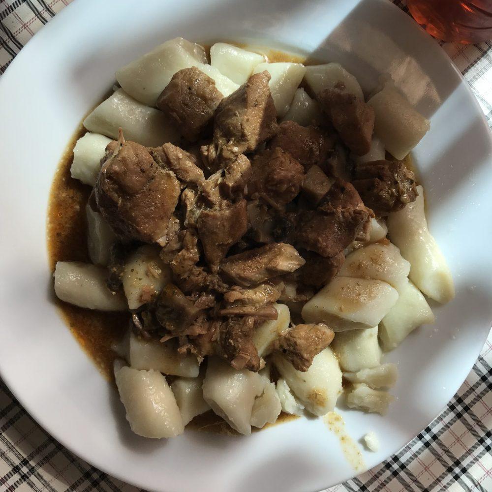 Meat & Potato dumplings