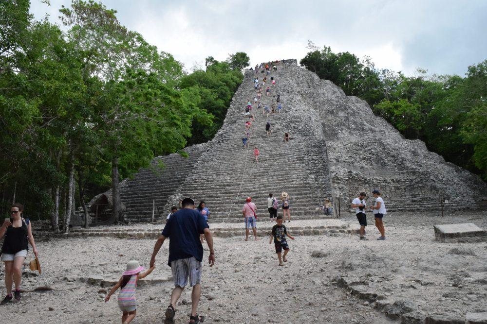 Pyramid at Coba