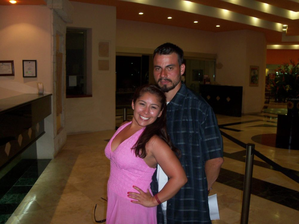 last night in Cancun