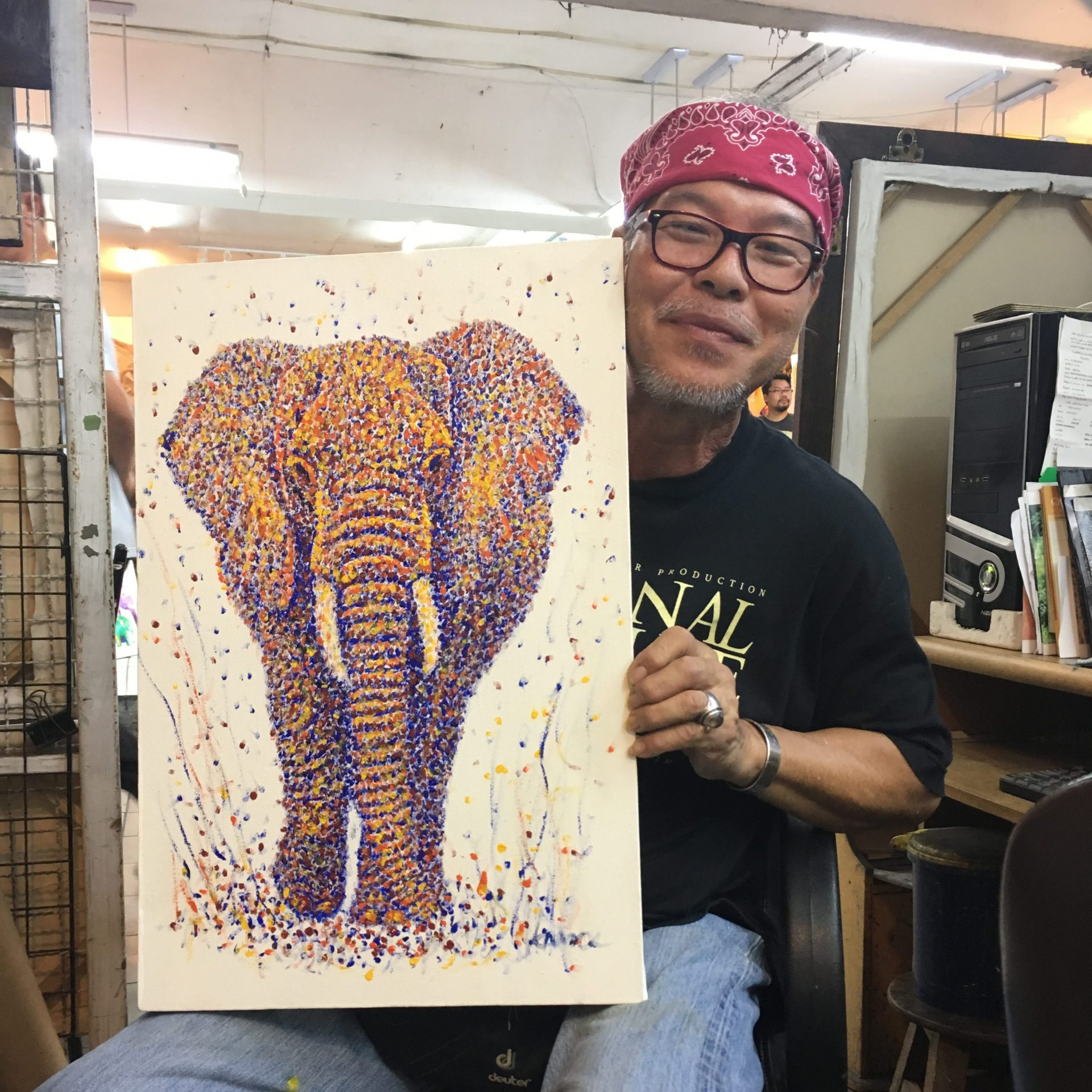 painting in chiang mai