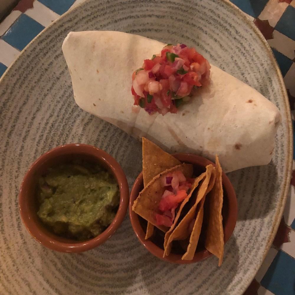 vegan beet burrito