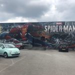 Birmingham Digbeth Street Art - Spider Man - Jim Vision and Gent48
