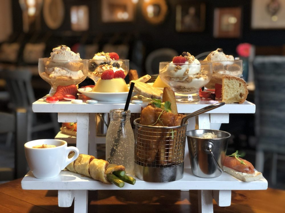 Afternoon Tea at The Priory Oven, Thorpe Salvin