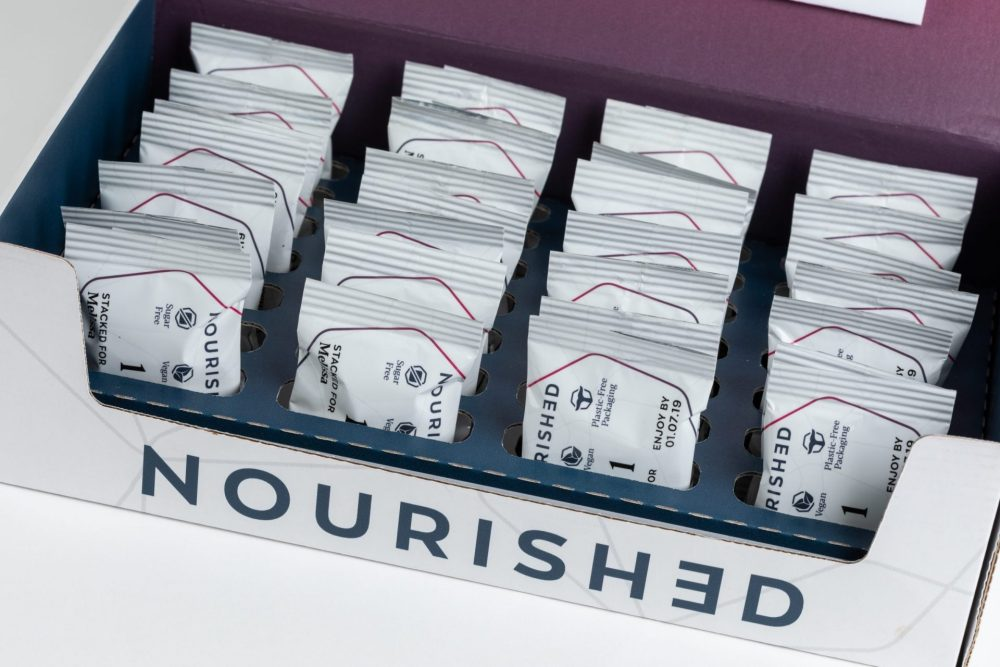 Nourished vitamin packaging