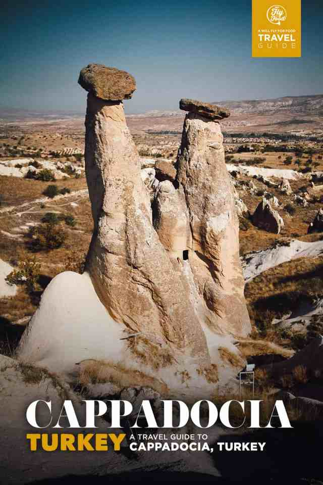 Fairy chimneys, Cappadocia, Turkey