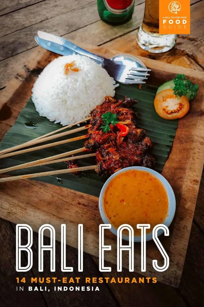 Bali Indonesia Traditional Food