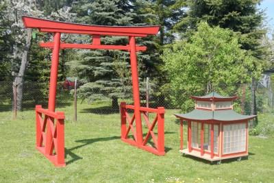 Japan Torii von Willi-Wood aus Holz
