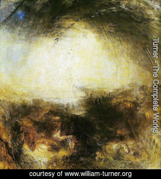Turner The Complete Works Shade And Darkness William