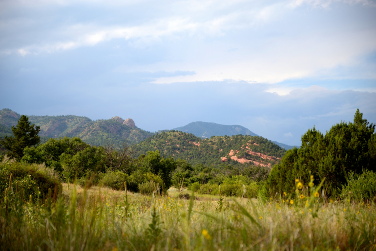 Aiken Canyon, near Colorado Springs, protected by the Nature Conservancy