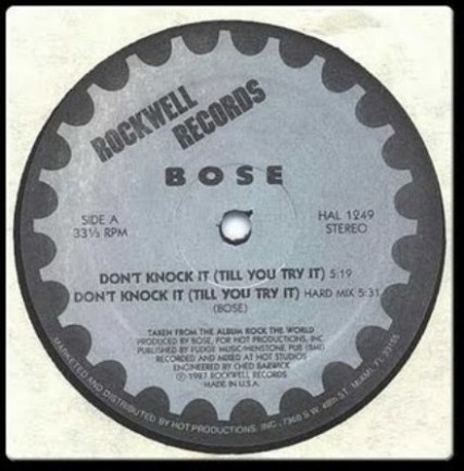 B.O.S.E. - Don't Knock It (Till You Try It)