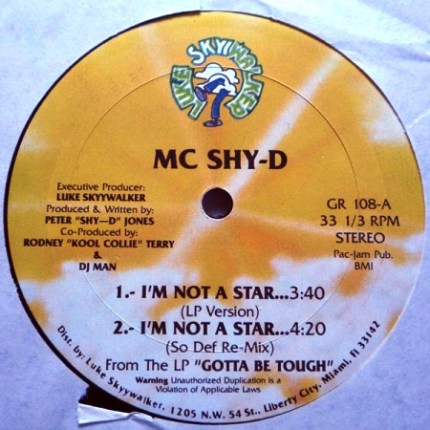 MC Shy-D – I'm Not A Star A