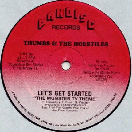 A - Thumbs & The Hoestiles - Let's Get Started (The Munster TV Theme) Vocal Rap Version