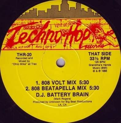 D.J. Battery Brain - 8 Volt Mix [12'' Vinyl 1988