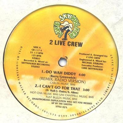 The 2 Live Crew - Do Wah Diddy (1988)