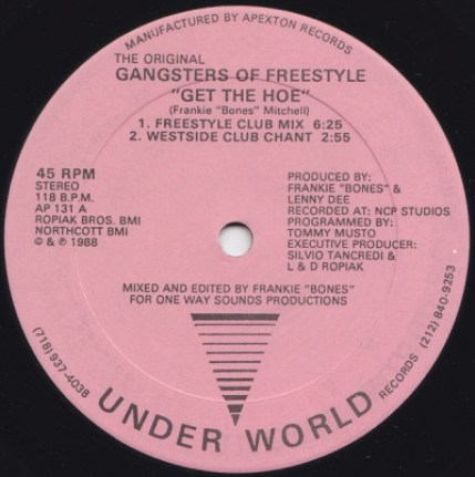 A Original Gangsters Of Freestyle, The - Get The Hoe