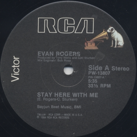 Evan Rogers - Stay Here With Me A