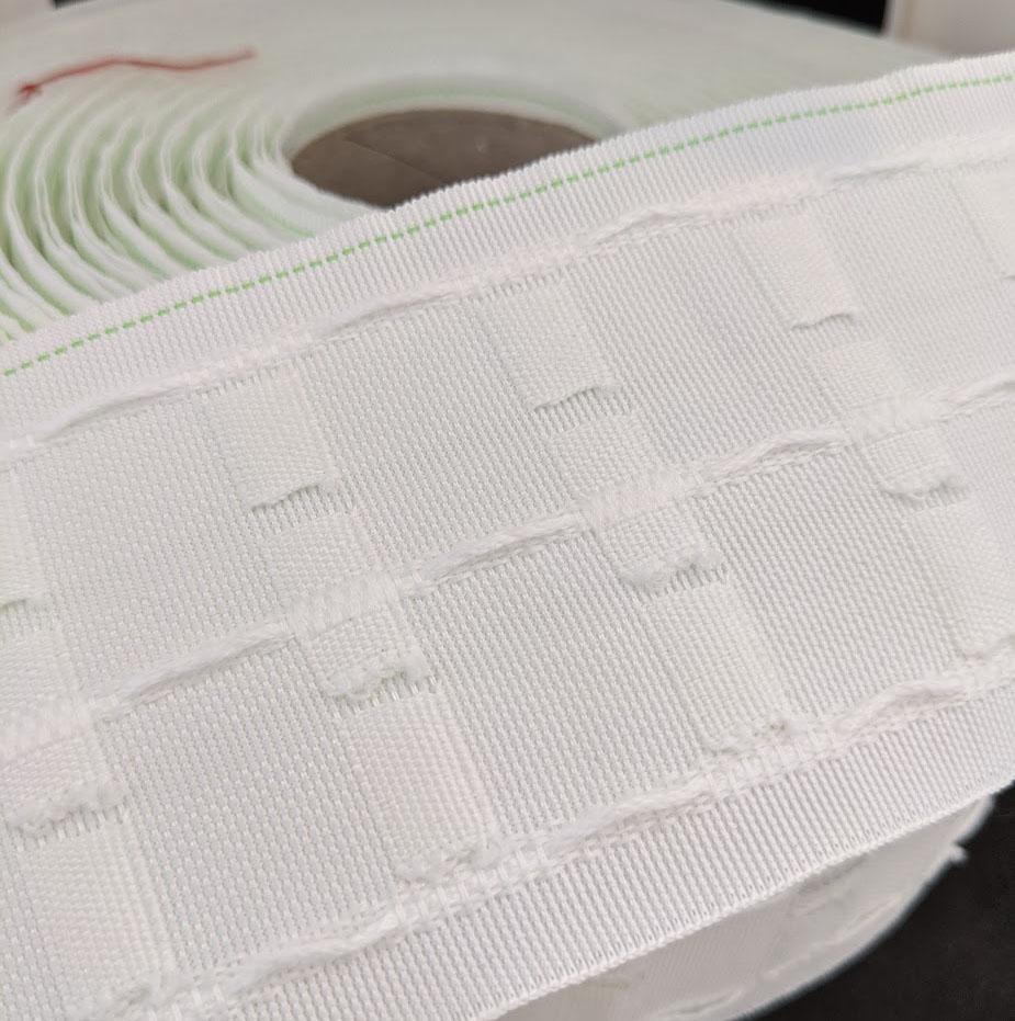 curtain header tape 76mm