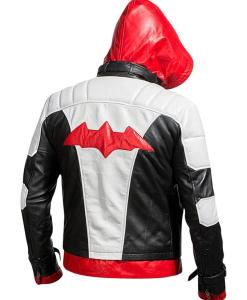 Batman Red Hood Leather Jacket