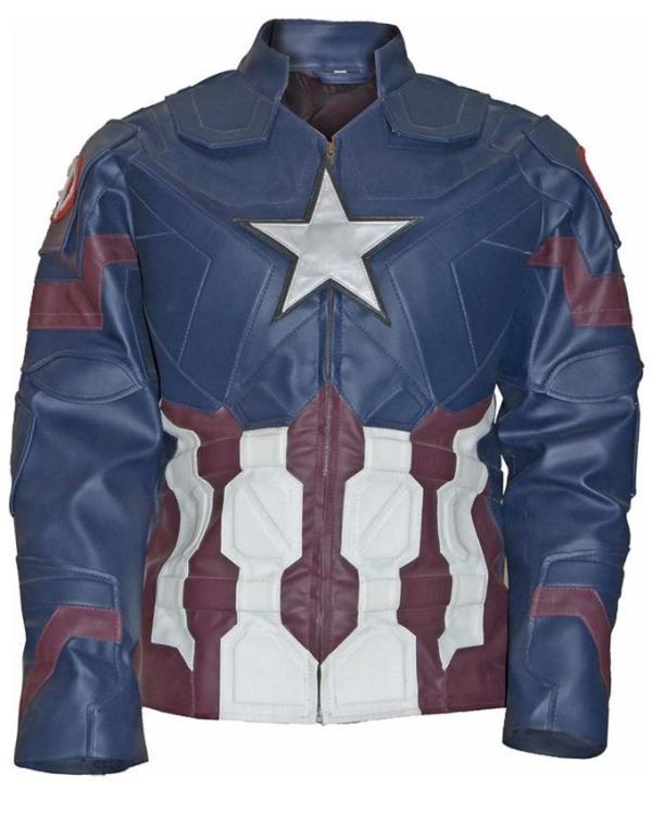 Chris Evans Captain America Jacket