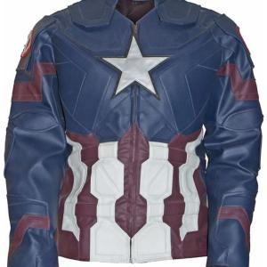 Chris Evans Captain America Jacket