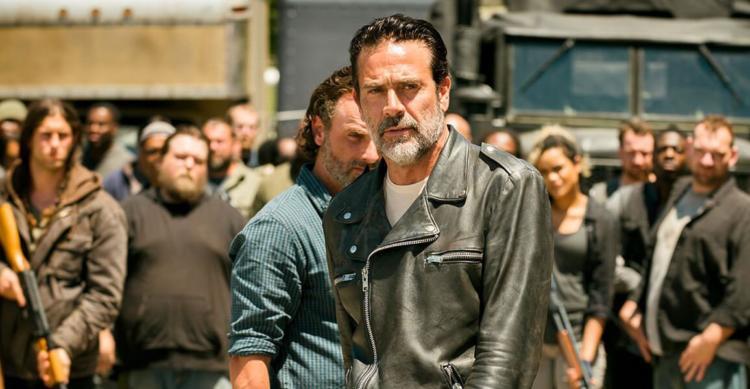 Jeffrey Dean Morgan Negan Leather Jacket - The Walking Dead