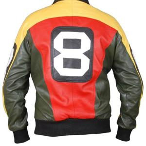 David Puddy Bomber Leather Jacket