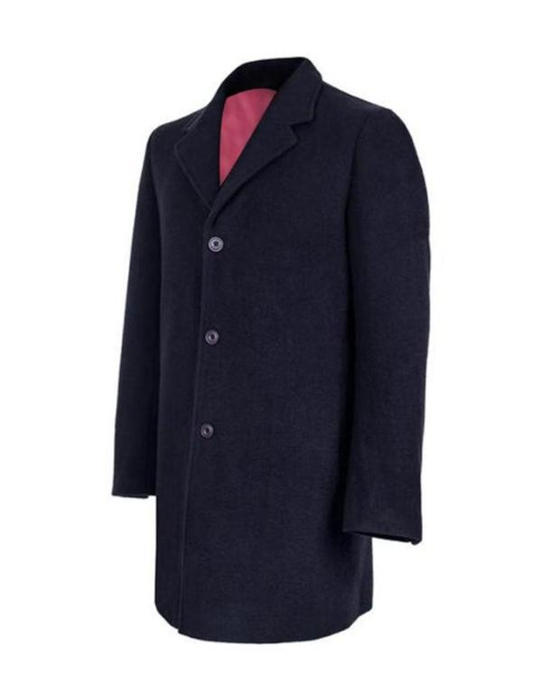 Twelfth Doctor Who Blue Coat