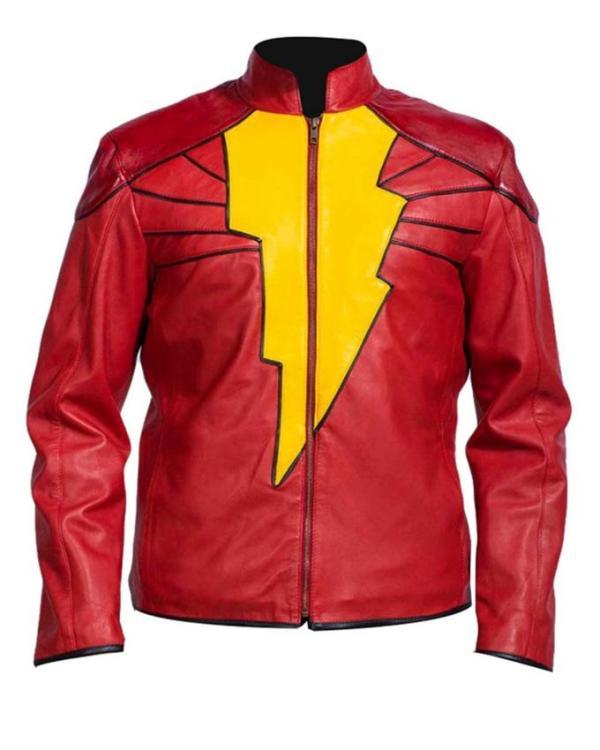 Shazam Leather Jacket