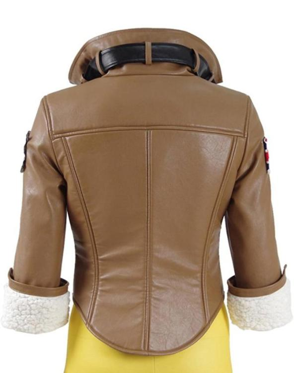 Overwatch Tracer Leather Jacket