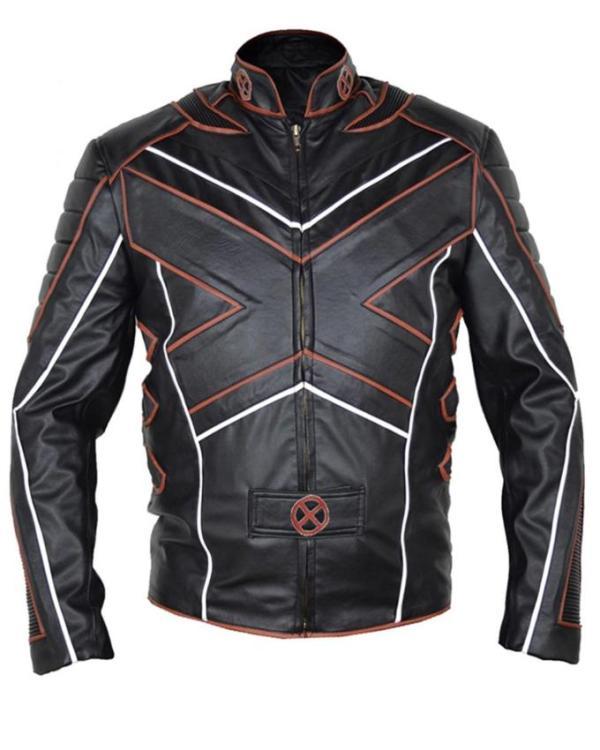X-Men Motorcycle Leather Jacket