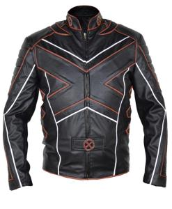X-Men Motorcycle Leather Jacket
