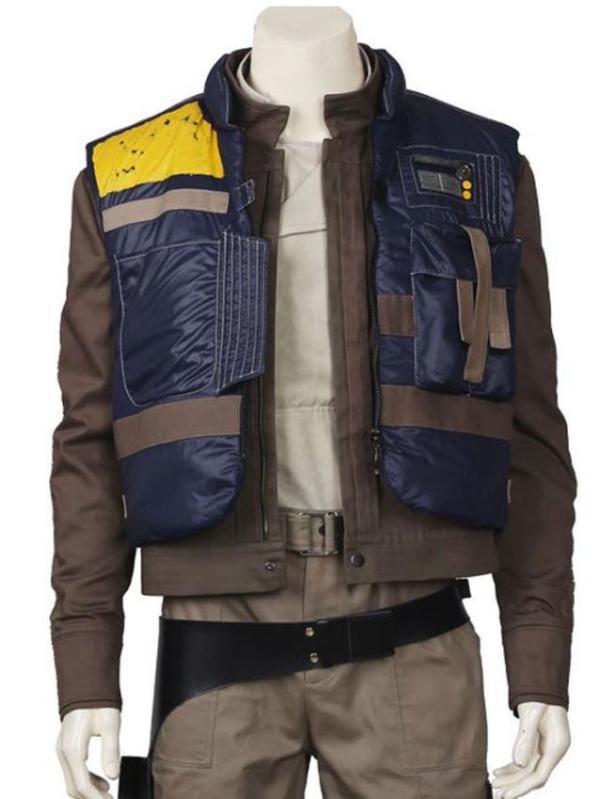 Rogue One A Star Wars Story Cassian Andor Blue Vest