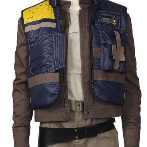 Rogue One A Star Wars Story Cassian Andor Blue Vest