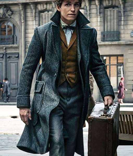 Fantastic Beasts The Crimes of Grindelwald Newt Scamander Coat