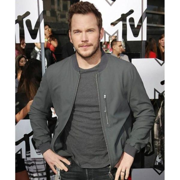 Chris Pratt Grey Jacket