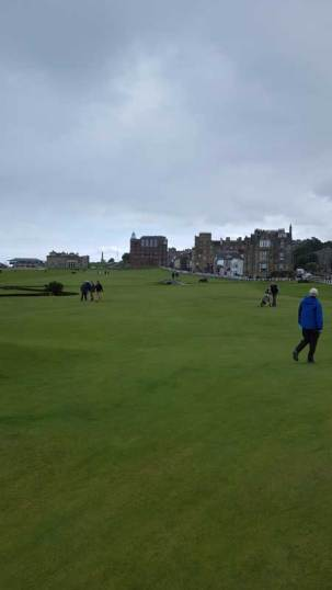 18th Fairway St. Andrews The Old Course Sept 2018