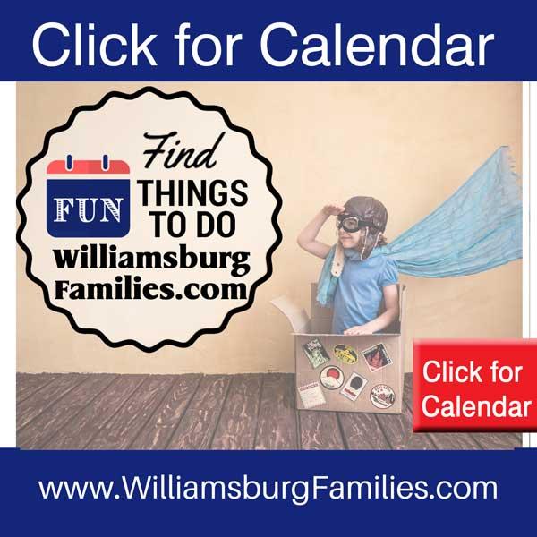 Williamsburg Events Calendar Williamsburg Families